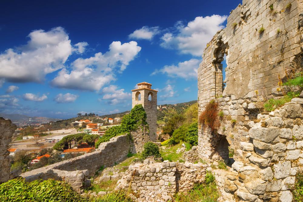 the ruins of stari bar montenegro