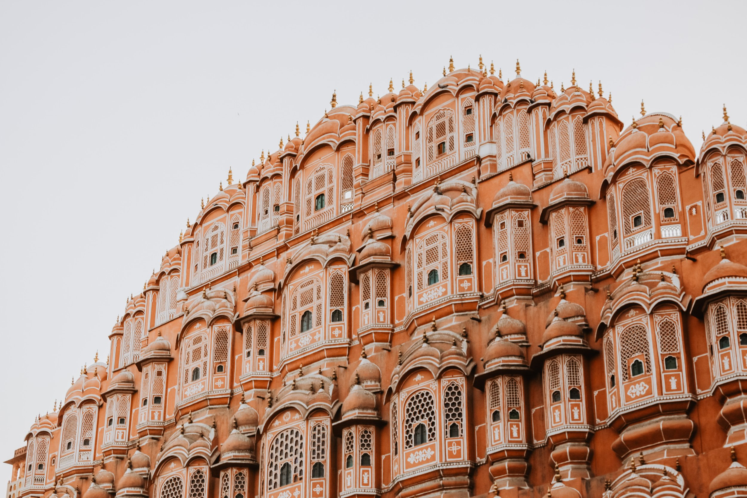 honeycomb Hawa Mahal building
