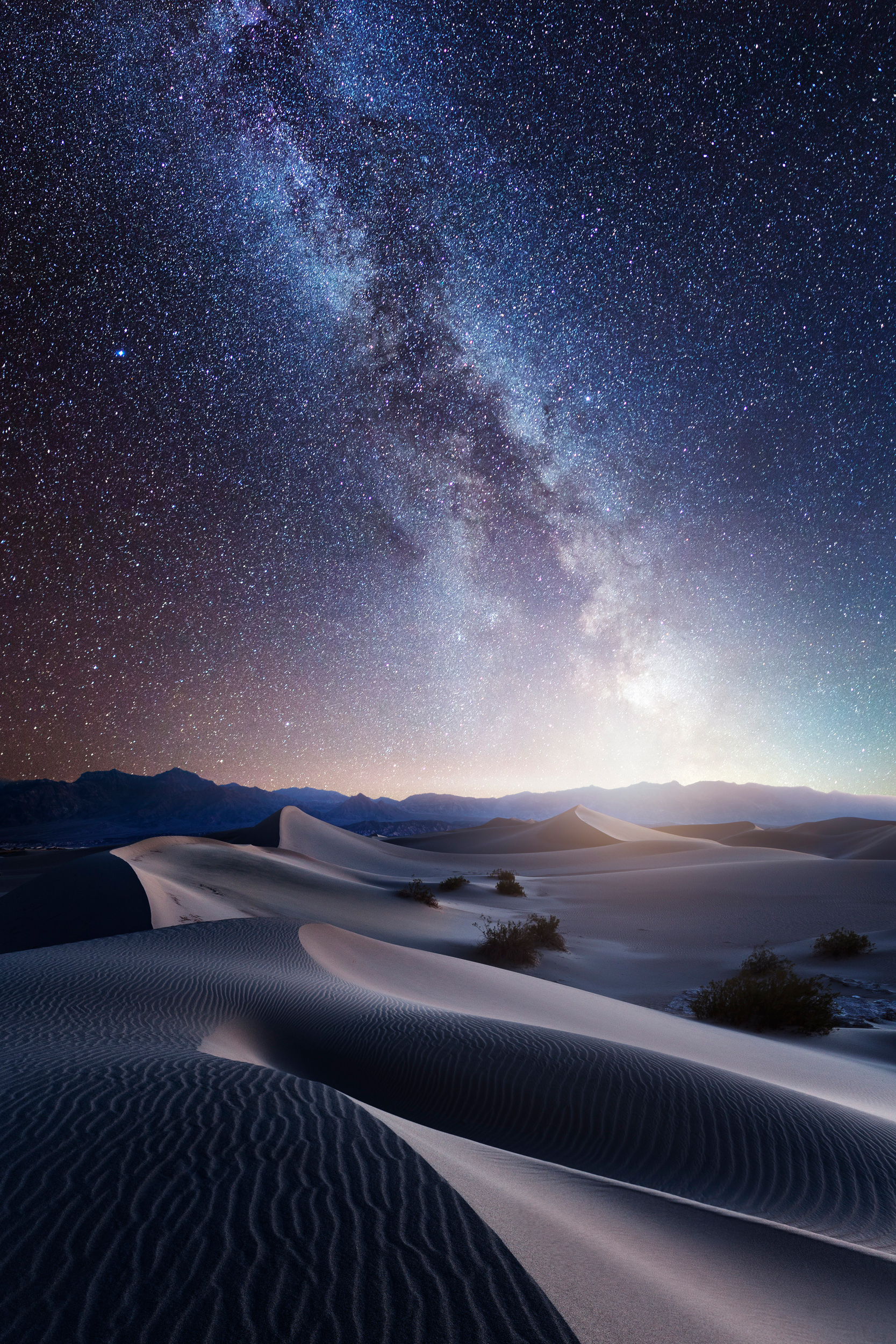 death valley mequite sand dunes milky way stars galaxy astrophotography composite dream long exposure night desert 2-3.jpg