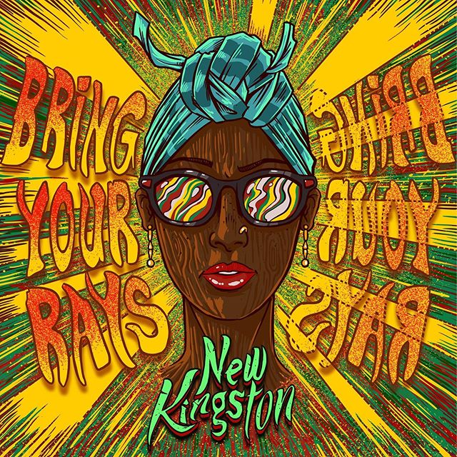 ☀️☀️☀️ BIG UPS to @_dimondemfrass_ @andybassford @nyahdiselecta @lovskymusic for helping us bring this song to life. BIG UP @dk13_design on the MADD artwork. BIG UPS to @easystarrecords on the smooth release. And most importantly, BIG UPS to YOU for tuning in!!! #BRINGYOURRAYS is available for streaming & downloading on all platforms.