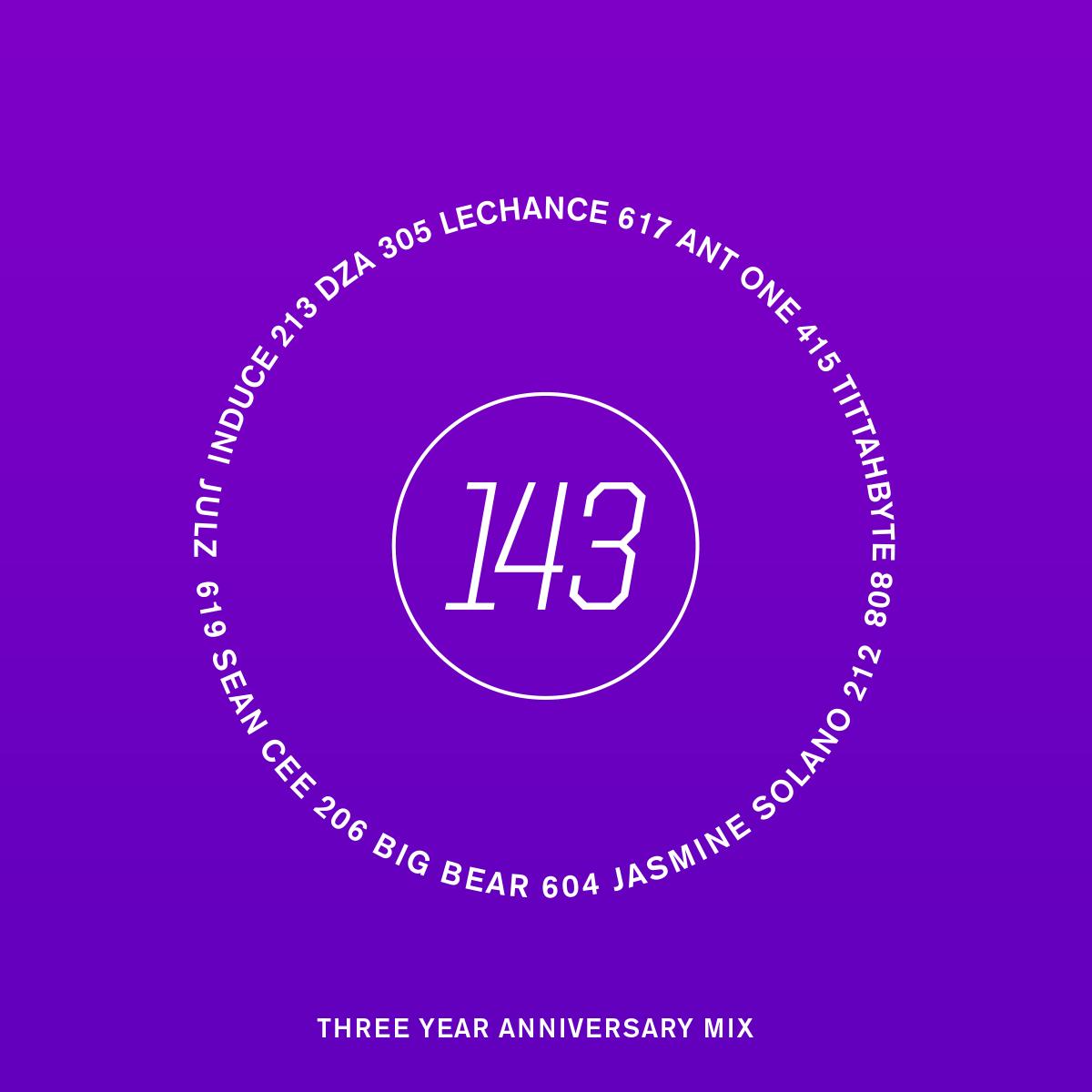 143 Anniversary Mix