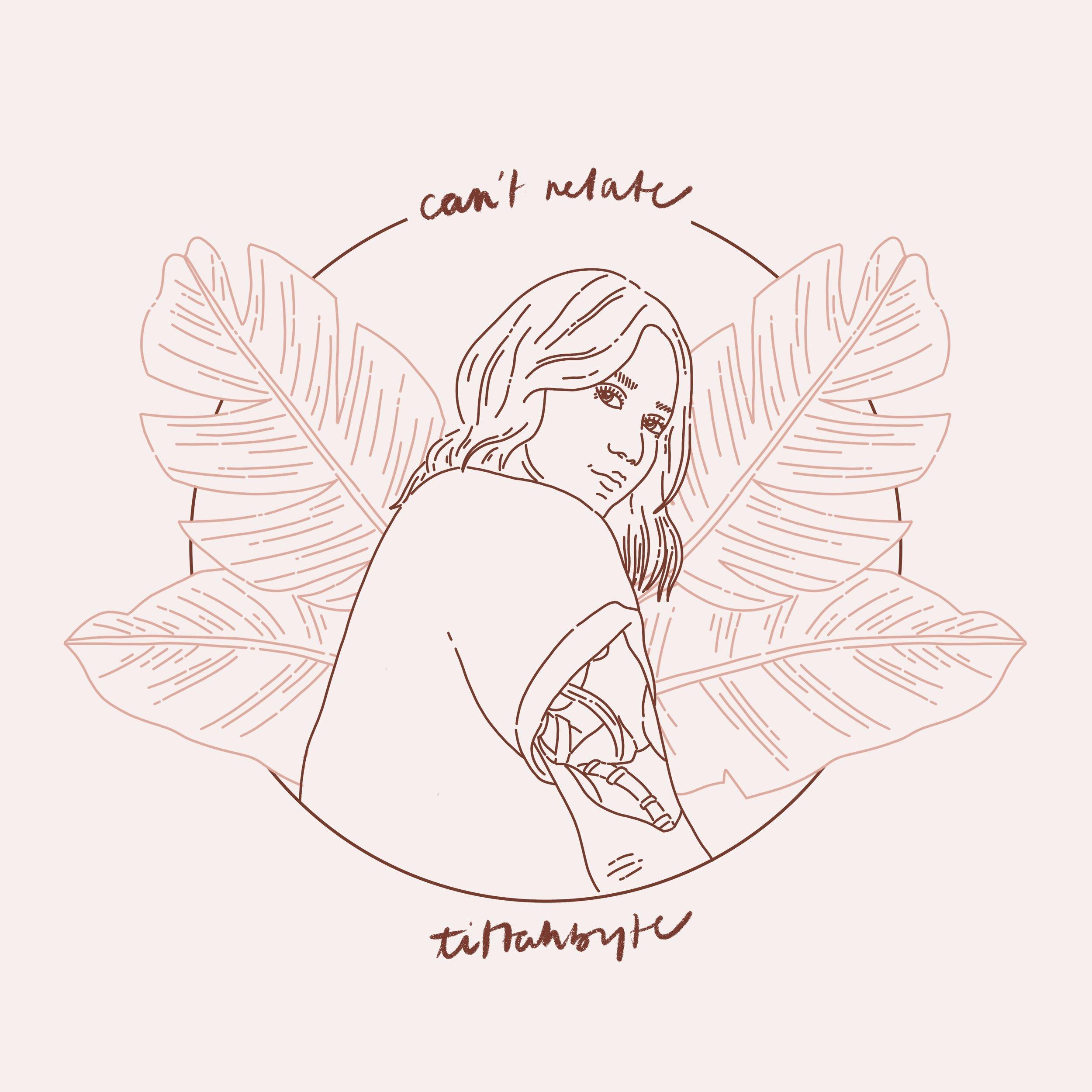 can't relate (2019)  illustration   diane-nicole morada
