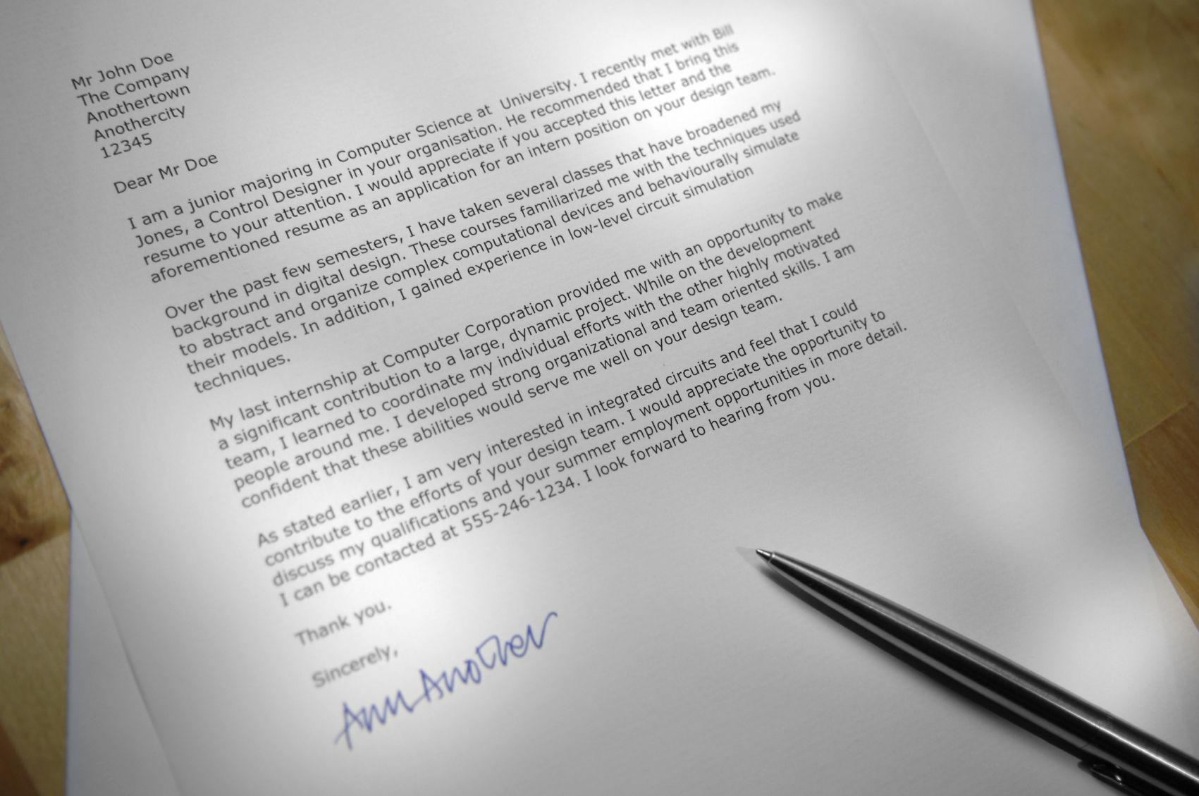 Do I need a cover letter? - Yes, yes you do.