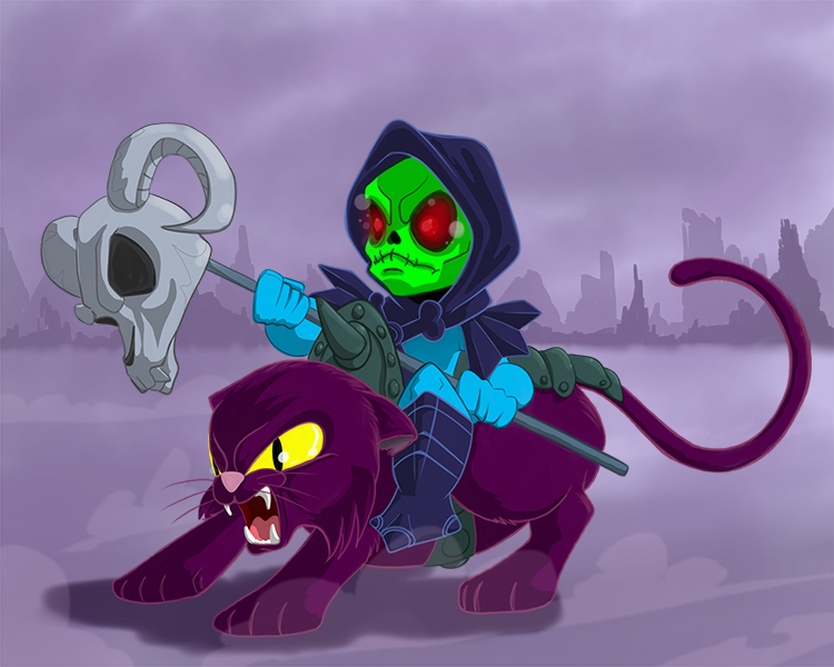 Skeletor and Panthor Print.jpg
