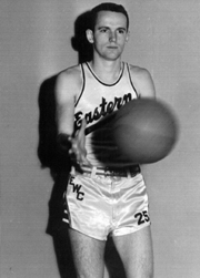 Dick Edwards '50 College Basketball Player