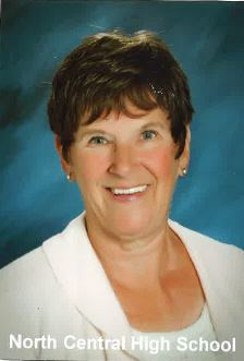 Darlene Linahan '63 NCHS Office Manager