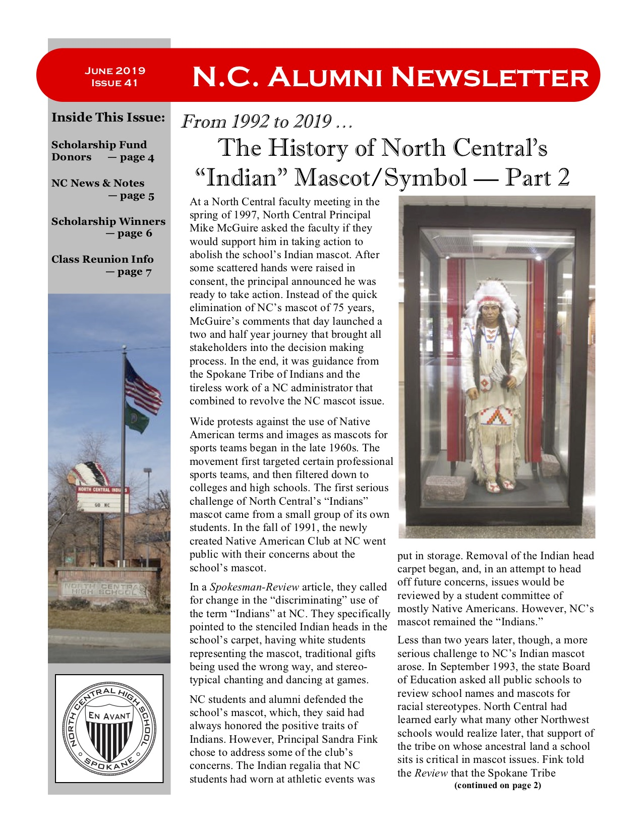 North Central Alumni- Newsletters