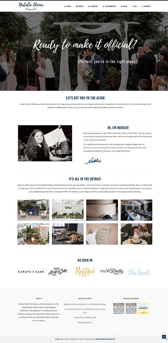 Natalie Diener Weddings - Website Redesign.jpg
