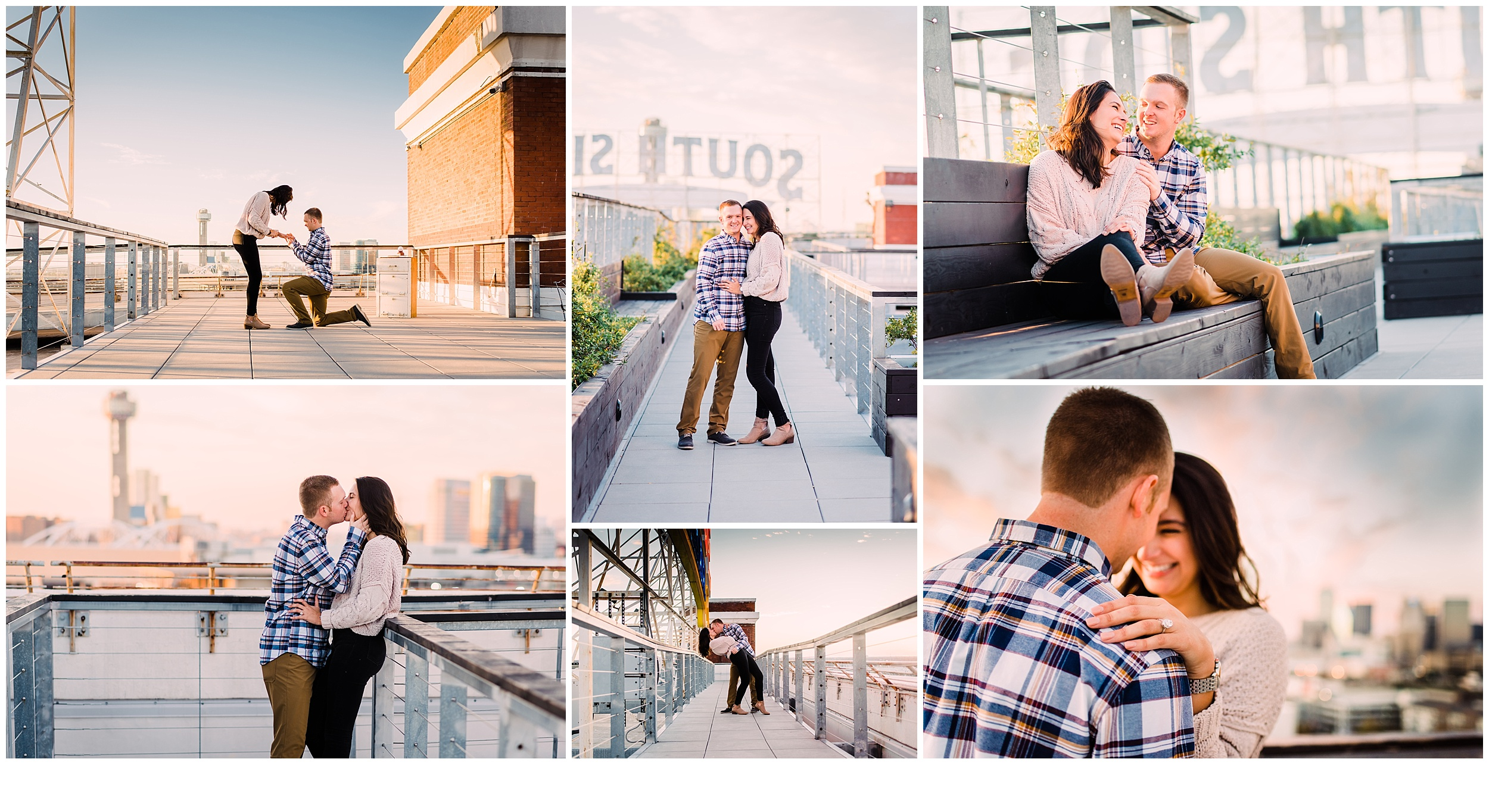 Surprise Proposal and Engagement Session - Dallas, Texas
