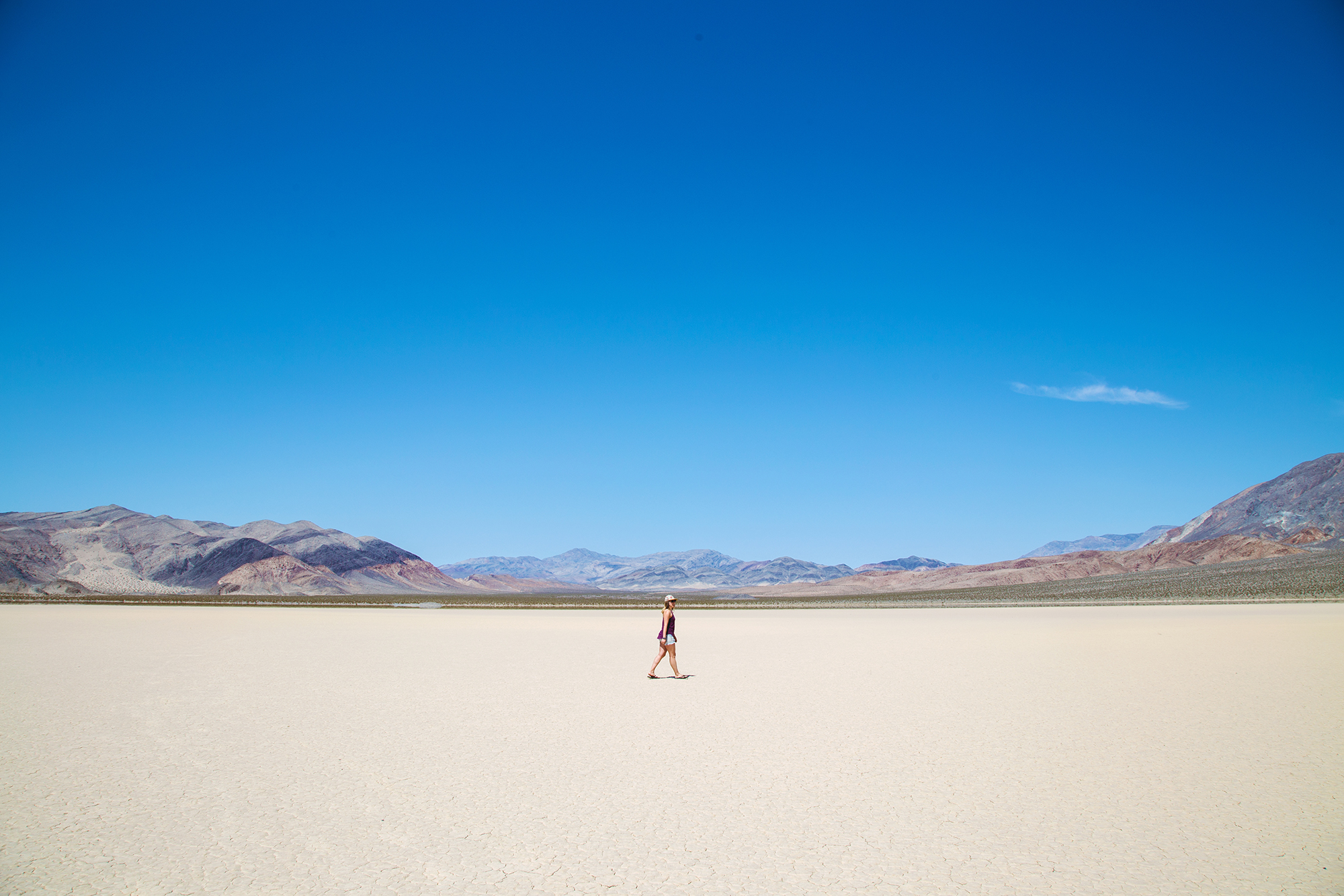 Death Valley National Park - How She Views It - Laura Hughes