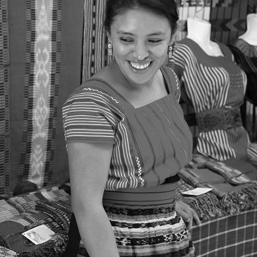 Ingrid Aju - textile weaver (SOUTH AMERICA)