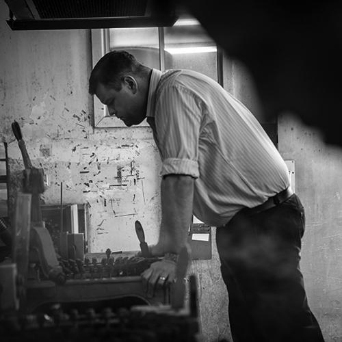 Stephen Keir - Akubra felt makers (AUSTRALIA)