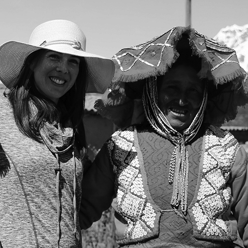 Sarah Confer - textile weaving (PERU)