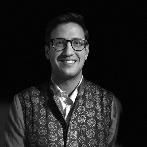 Jeremy Fritzhand - block printing (INDIA)