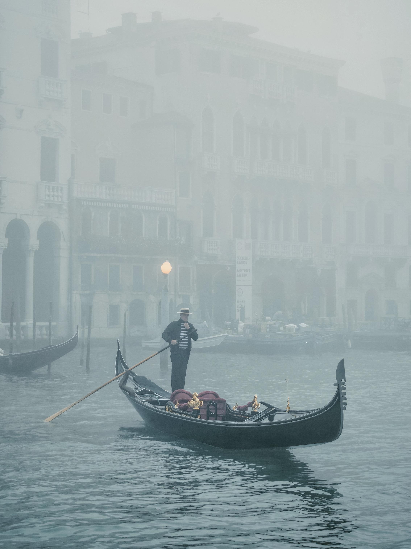 Copy of Gondola in the fog