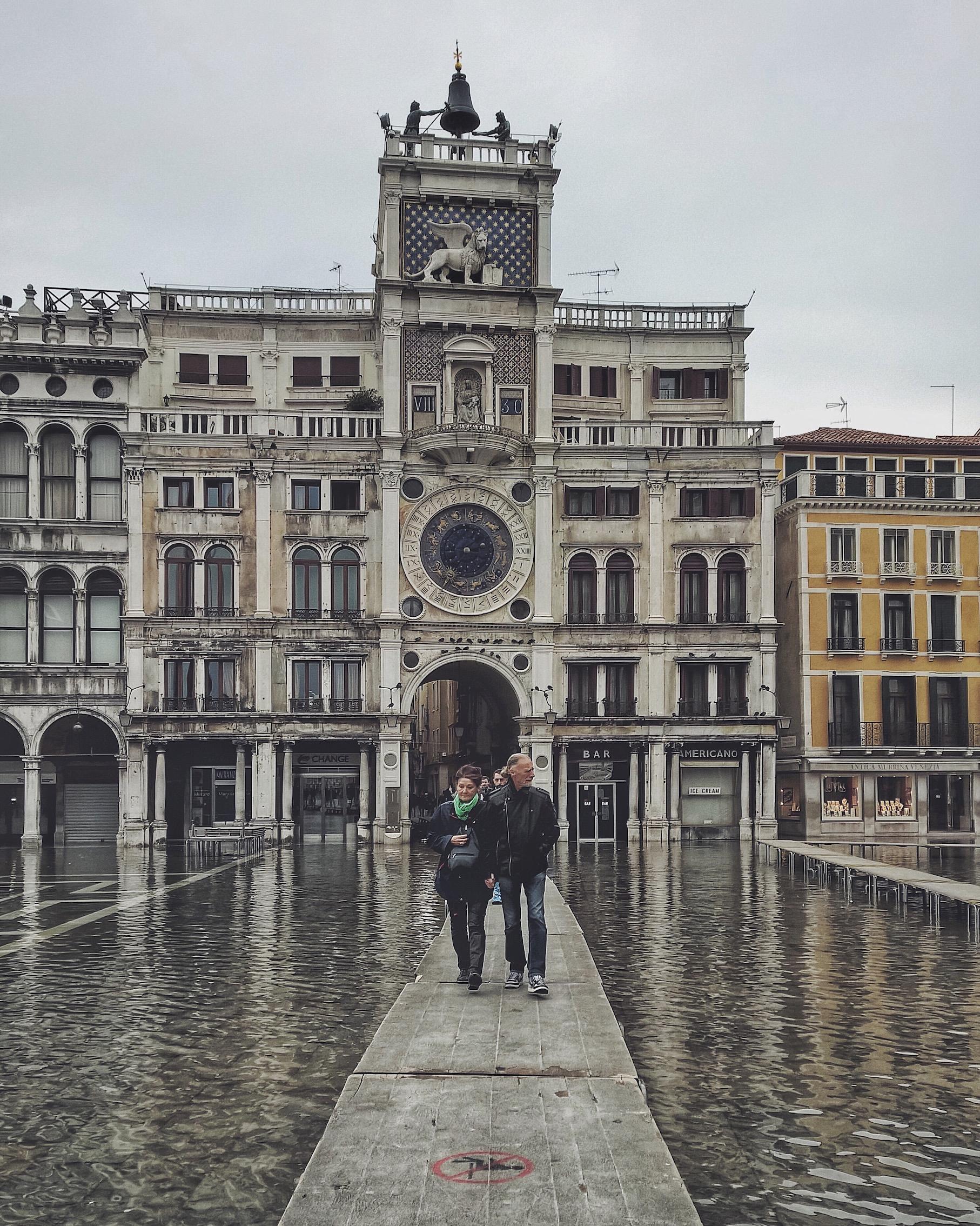 Copy of High tide in Venice
