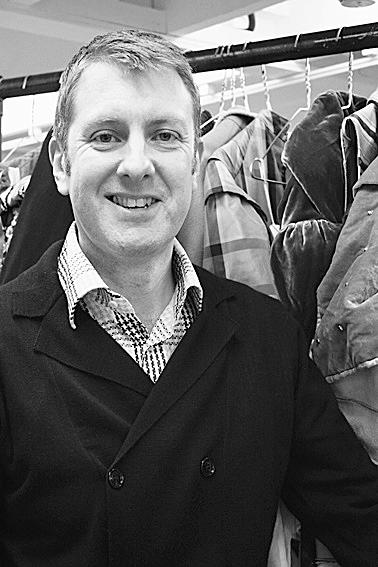 Head of Costume, Alistair McArthur