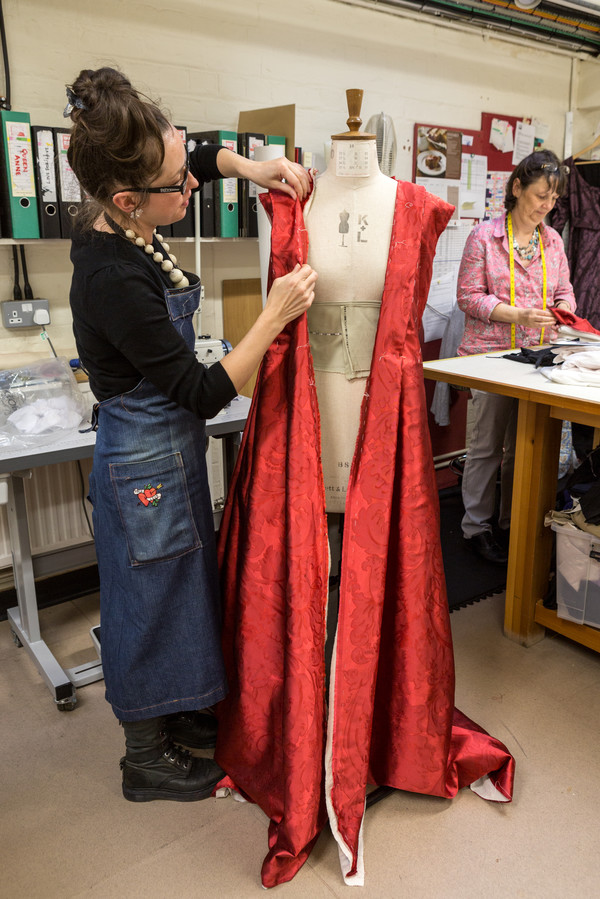Copy of Costume Making Queen Anne