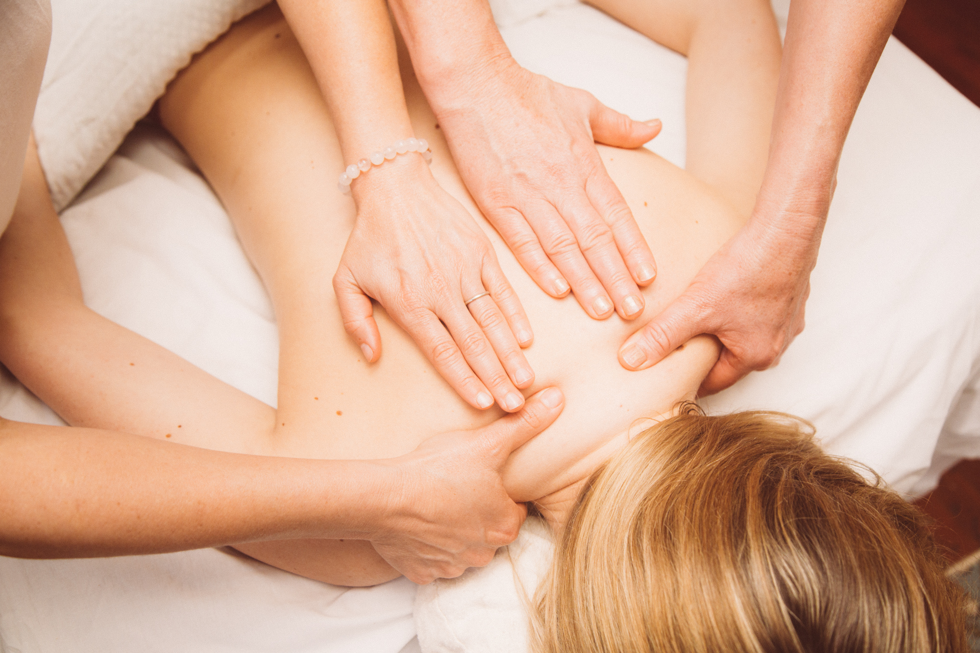 Abhyanga - is the classic Ayurvedic oil massage that uses the skillful application of medicinal oils with specific nurturing strokes. It activates the energetic centers (Marma points), breaks up impurities, and stimulates arterial and lymphatic circulation. Learn how to perform this treatment alone and in synchrony with another technician.