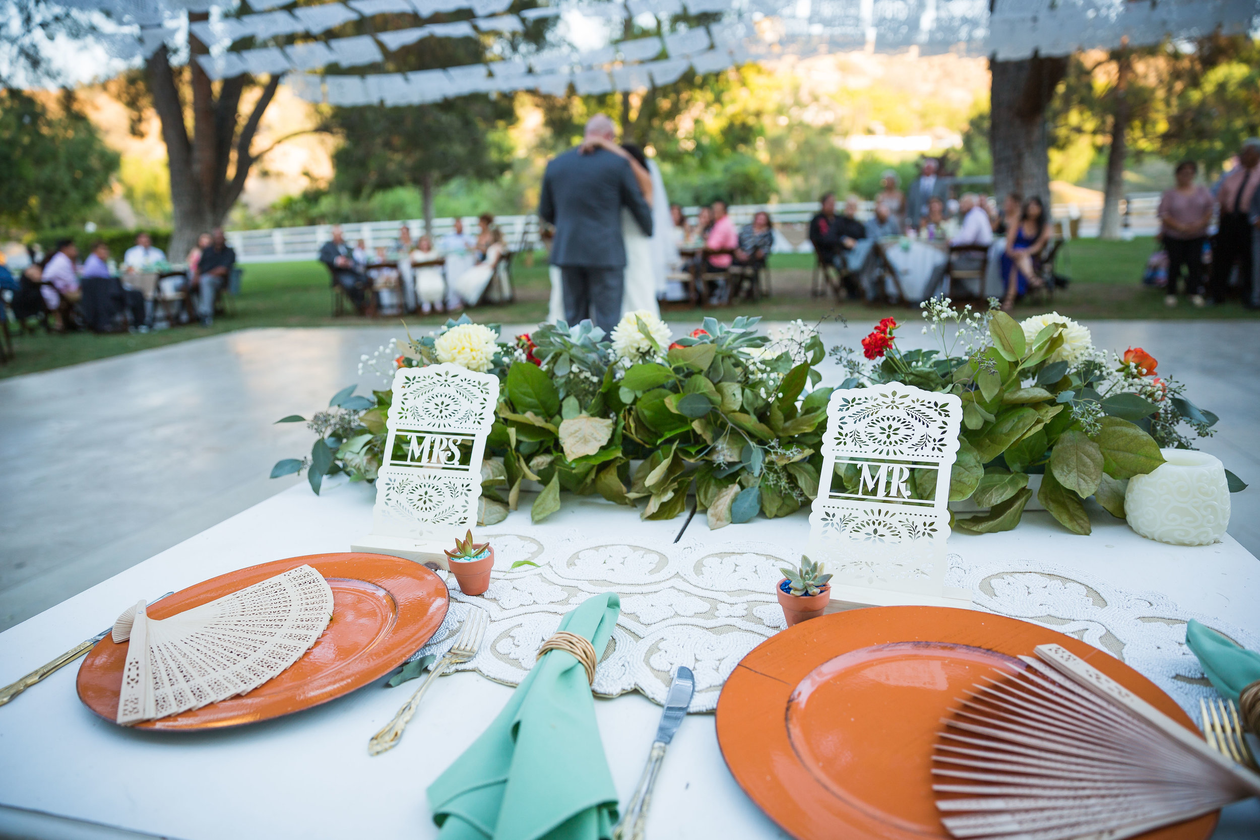 Copy of Mexican Inspired Wedding: Head Table Eyesome Events