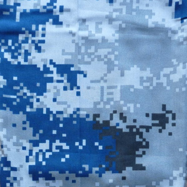 "Urban Pattern:   (Official name: 07 Urban Camouflage, ""07 城市迷彩"")  Also known as ""Air Force Digital Camo"", it is issued to the PLA Air Force."