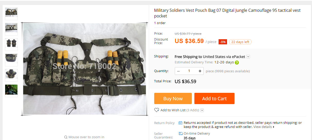 UPDATE: 07 Digital Load Bearing Vest can be bought  here .