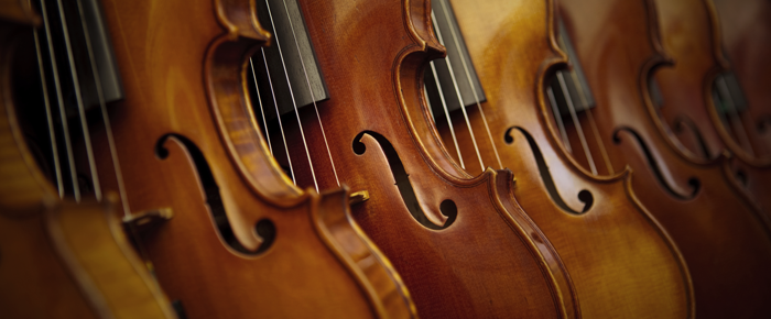 Strings - The wonderful world of strings could be at your fingertips. These instruments are the heart of an orchestra and chamber ensembles alike. A natural progression from learning piano, learning any of the string instruments is a great addition to any musician's journey.