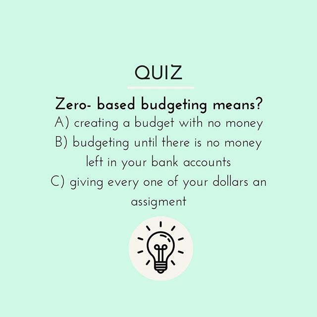 With a zero-based budget, you have to make sure your expenses match what's coming in during the month and you're giving every dollar a job. Download the EveryDollar app to get help creating a zero-based budget  and tracking it monthly. - Become an Exclusive Member of the 'Financially Intentional' Facebook Group @ https://bit.ly/2HSOKQP - Subscribe to my Website @ FinanciallyIntentional.com - #focus #challenge #advice #progress #financialplanning #goalsetting #investing #investment #investments #financialindependence #finance #markets #buy #sell #debtfree #cash #cashmoney #wealth #budget #goals #goaldigger #vision #dreambig #successquotes #successmindset #vision #freedom #wealth #success #finance
