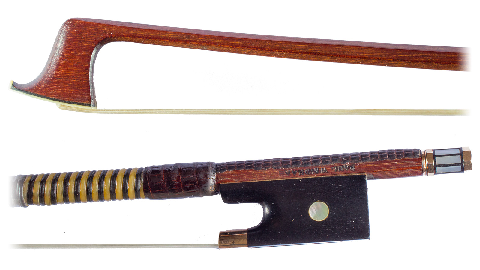 Violin Bow by P. Weidhaas