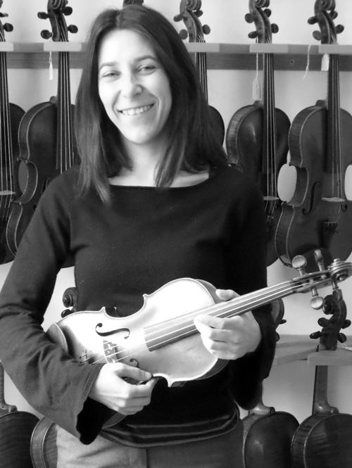 Ester Garcia Adame - Violin & Viola Specialist / Workshop Co-Ordinator