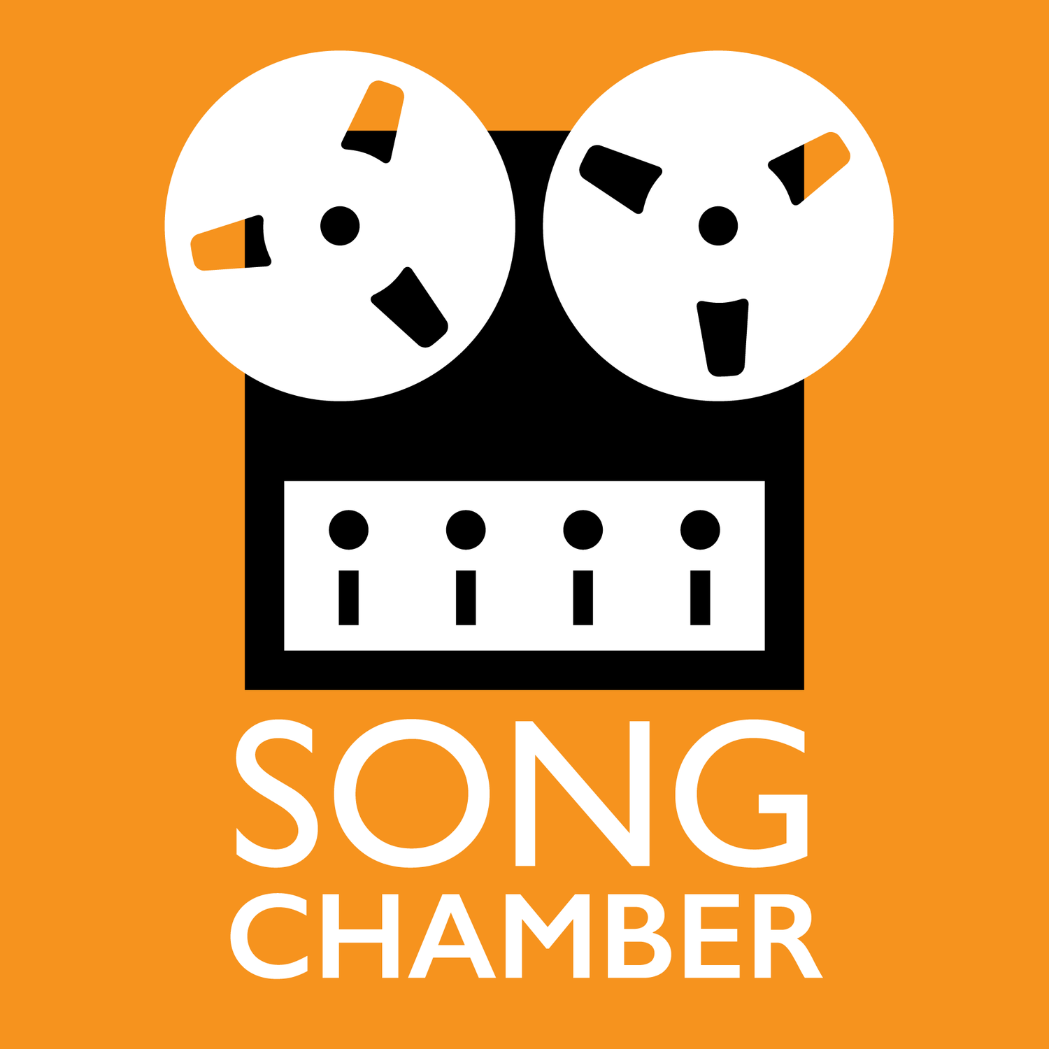 Song Chamber Podcast Cover Art / Logo