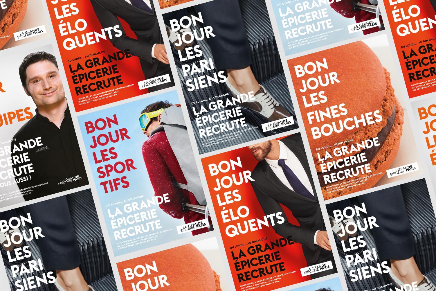 BONMARCHE_CAMPAGNE_RECRUTEMENT_pierre_bouttier_affiches_bonjour_compil.png