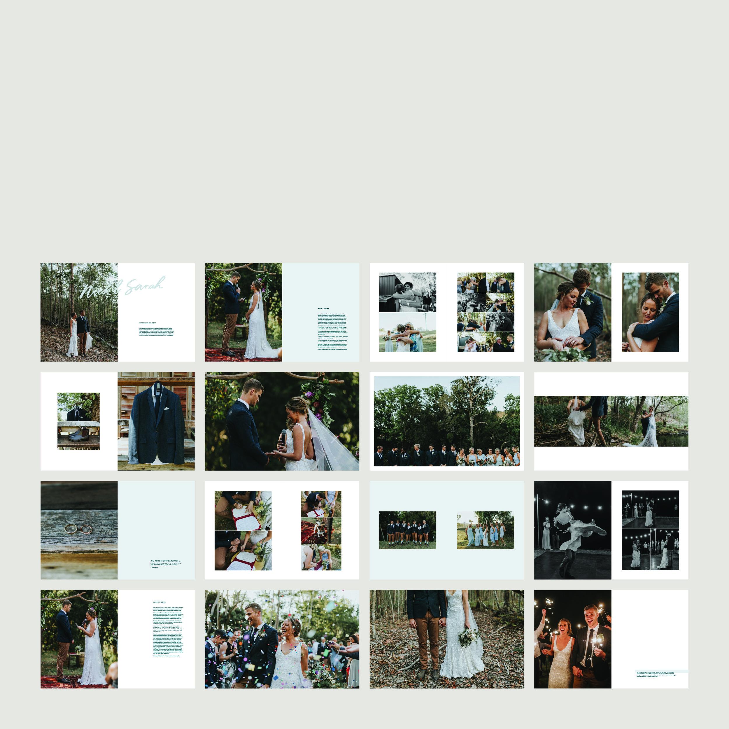 Nick & Sarah Wedding Zine®