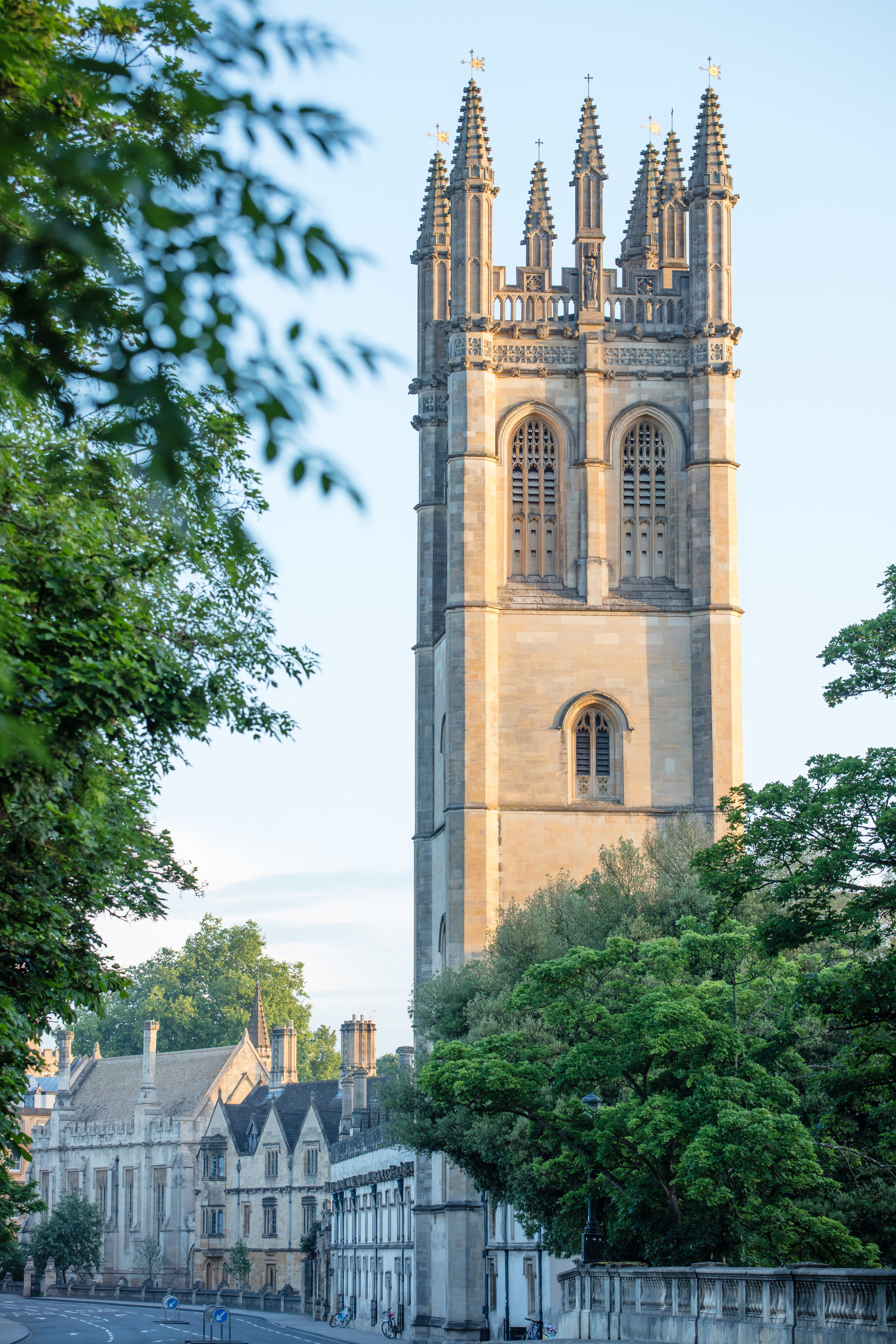 Magdalen tower in the morning light
