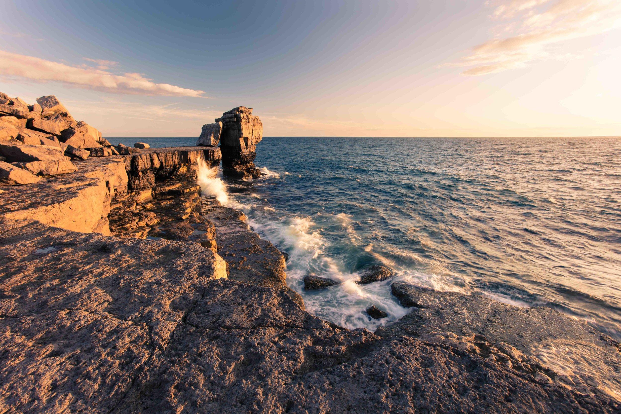Pulpit Rock, Dorset, UK