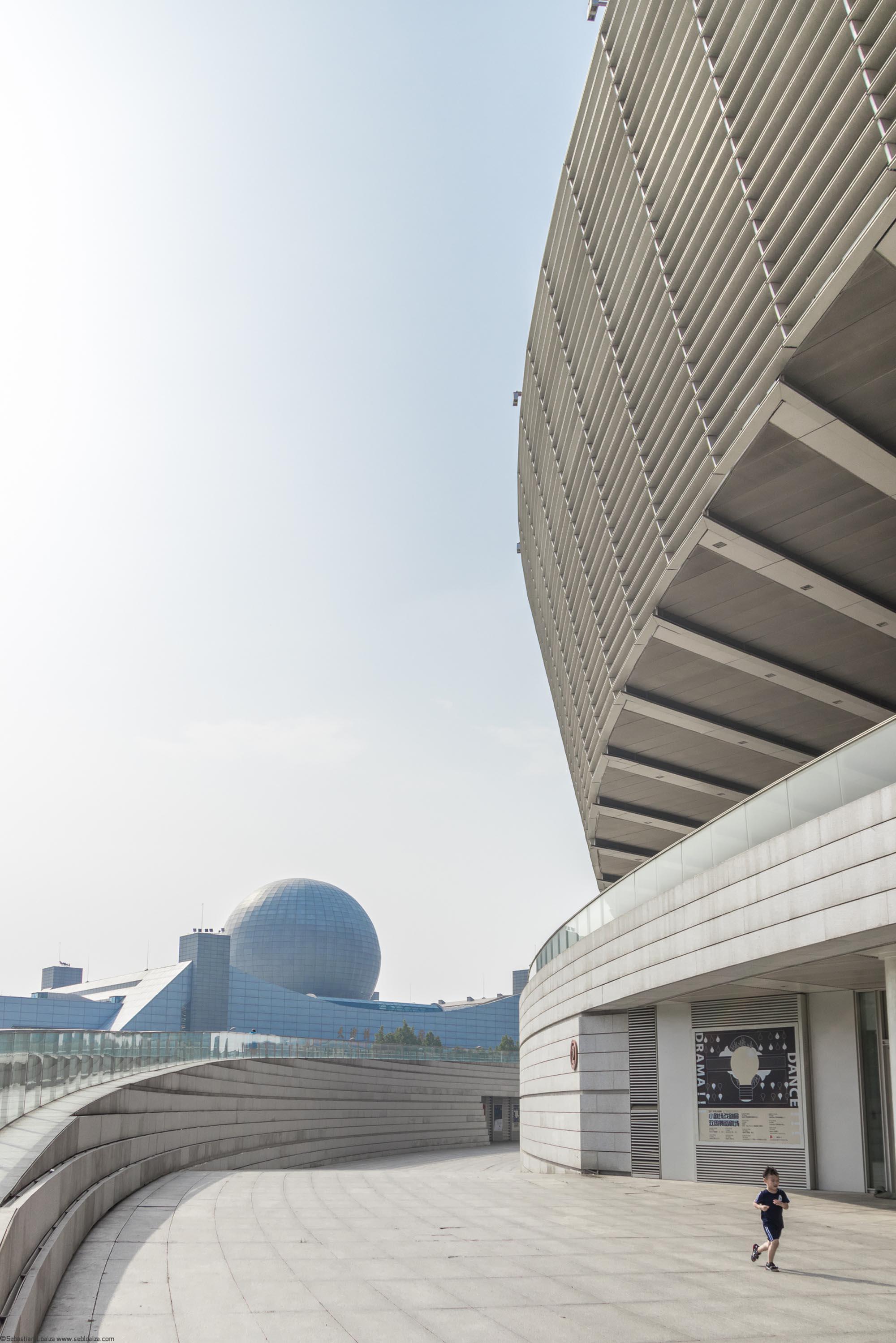 Tianjin Grand Theatre by GMP