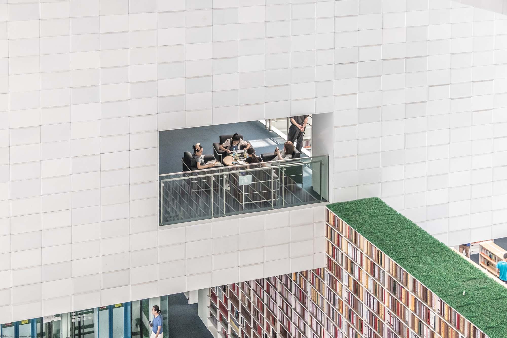 Tianjin Library by Riken Yamamoto