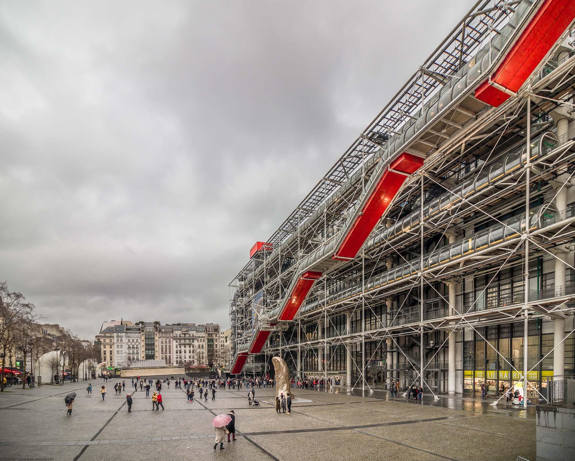 Pompidou Center by Renzo Piano & Richard Rogers