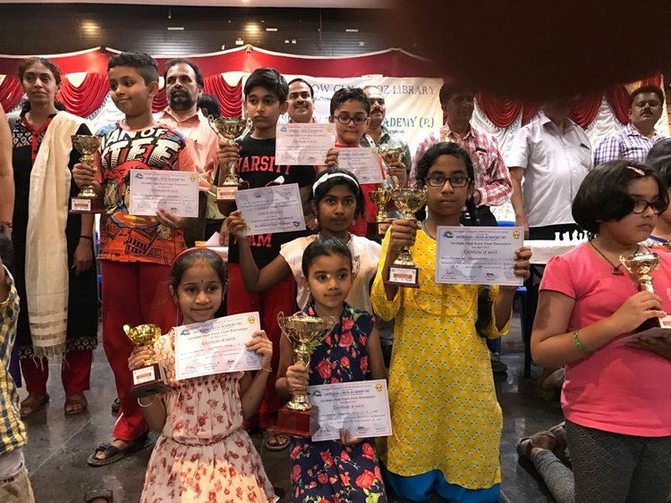 Renganayaki & Smriti place 2nd and 4th in the U-11 State Open Rapid Chess Tournament