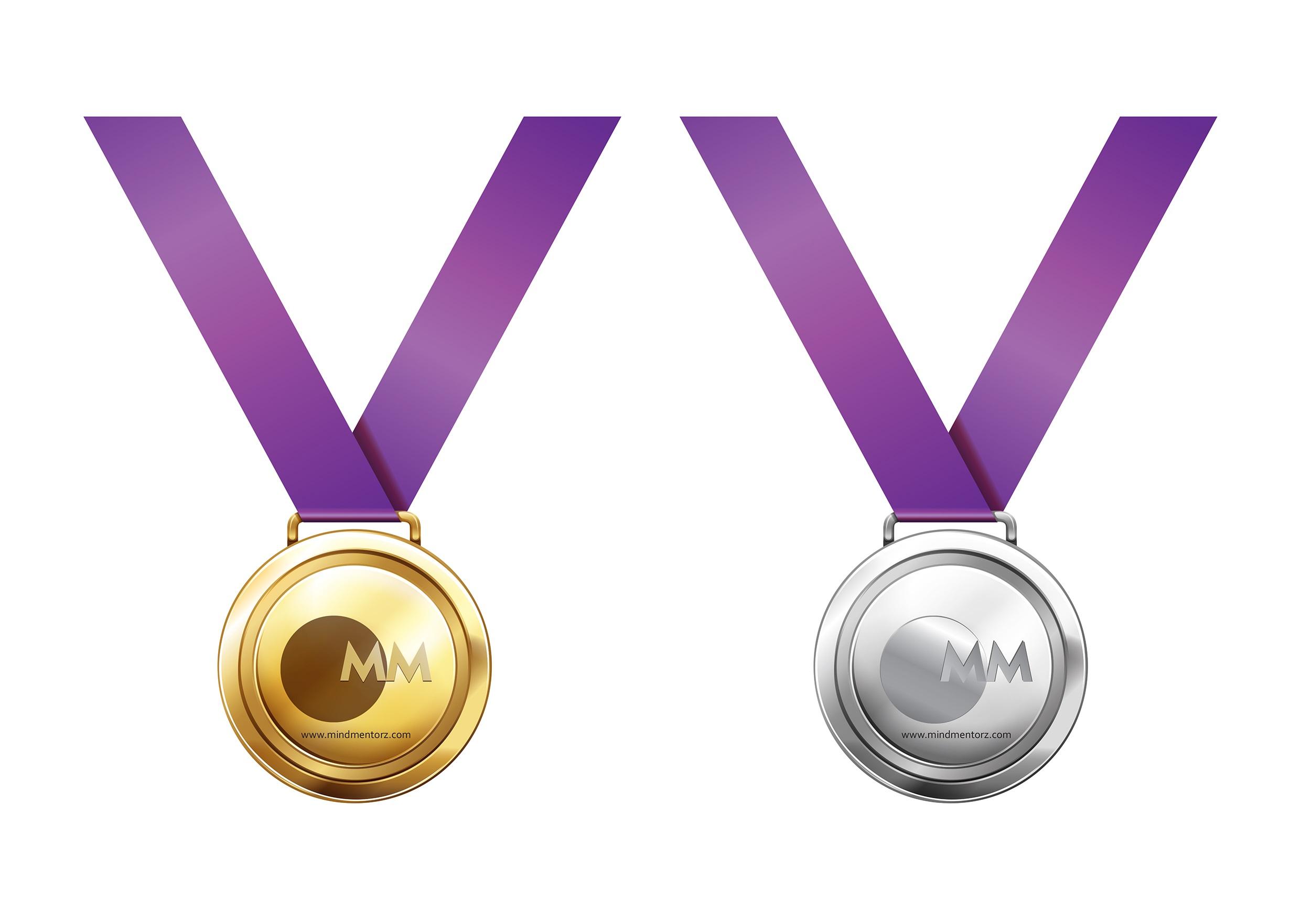 Mind Mentorz Medal Design