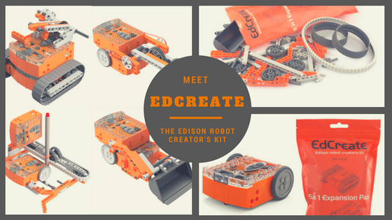 Make Your Own Remote Control Edison Robots with EdCreate Projects    (Your TV Remote Control Can Be Programmed to Control Edison Robots)