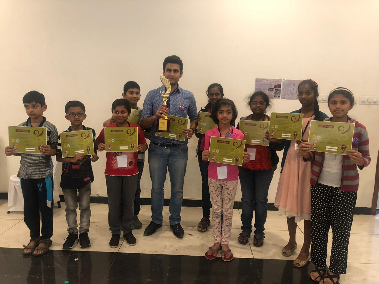 Mind Mentorz secures 8th posiion in the CPL - 3 (Chess Promoting League) Team tournament.