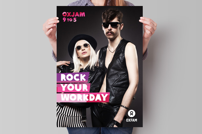 Oxjam - Branding and content for Oxfam's workplace fundraiser →