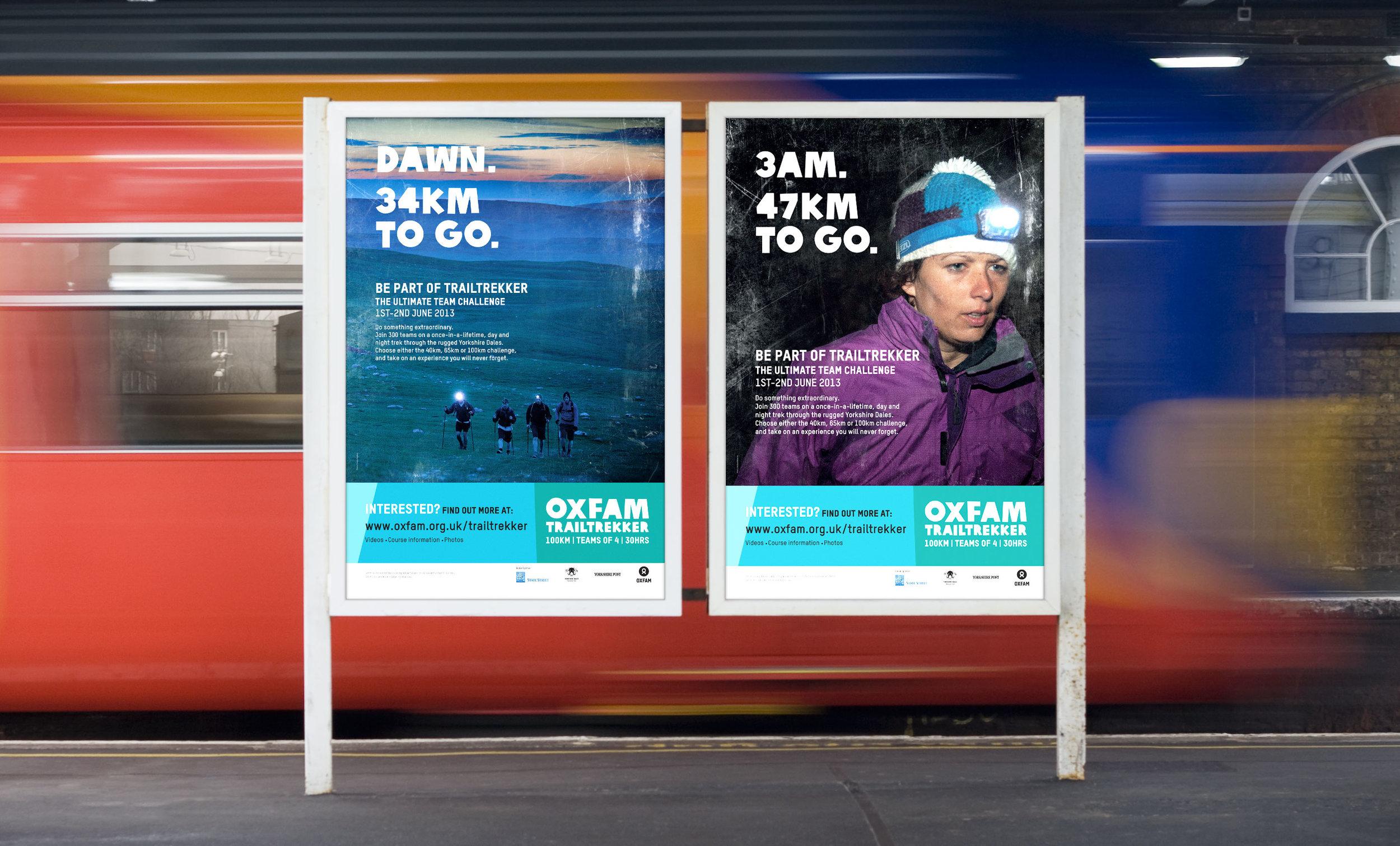 Oxfam Trailtrekker - Campaign concept, advertising, event content →