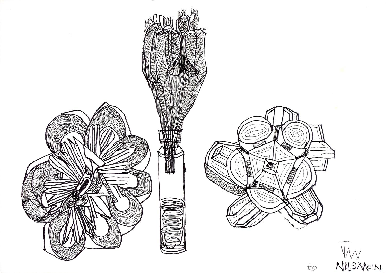 Origami Flowers II