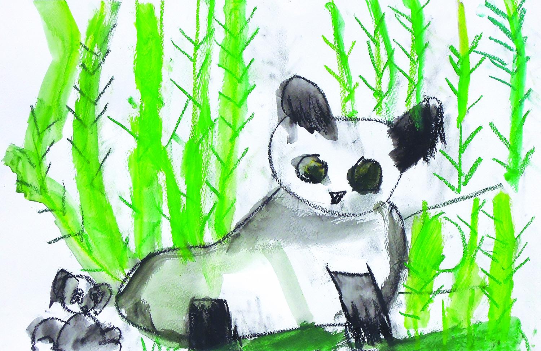 Panda and it's Baby