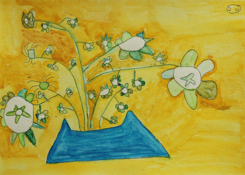 Lemon Verbena (drawing)