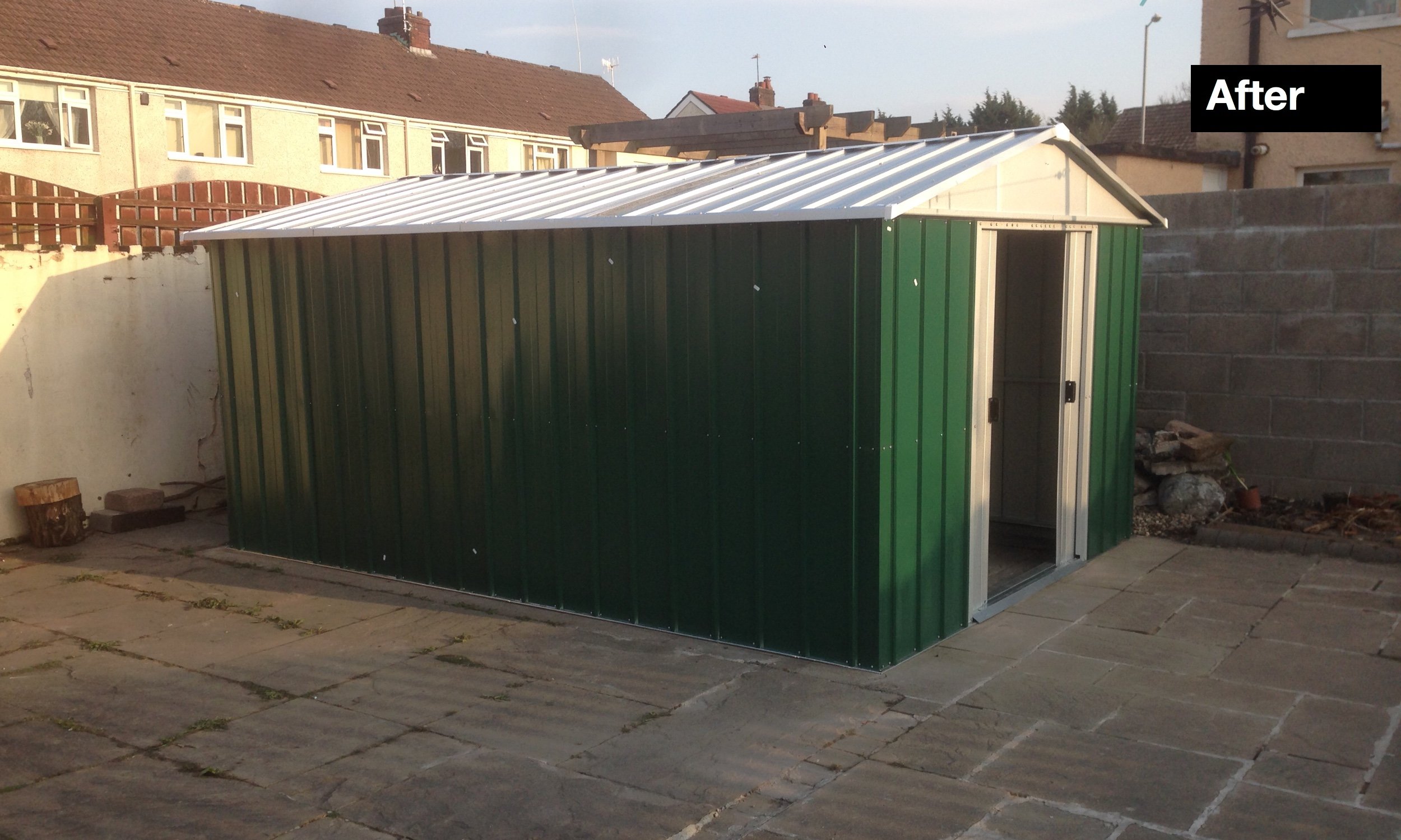 After Metal Shed