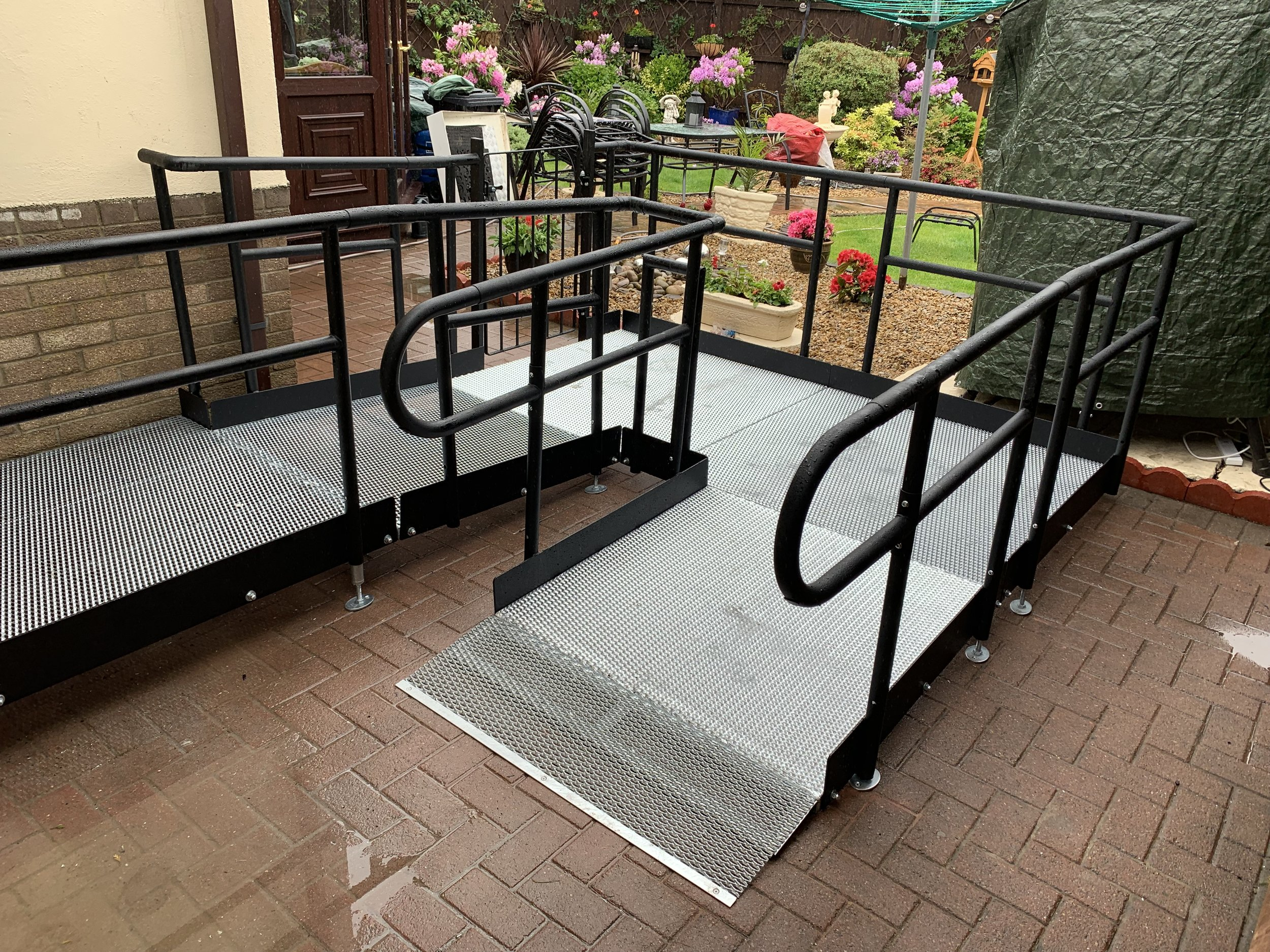 permanent ramps disabled access