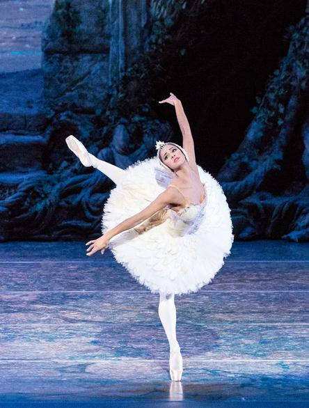 Misty Copeland of the ABT. We saw Hee Seo perform last night.